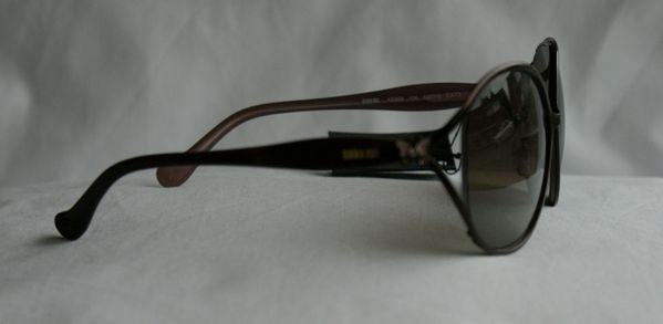 Anna Sui Sunglasses AS 866 106 Dark Brown