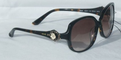 Anna Sui Sunglasses AS 877 113 Havana