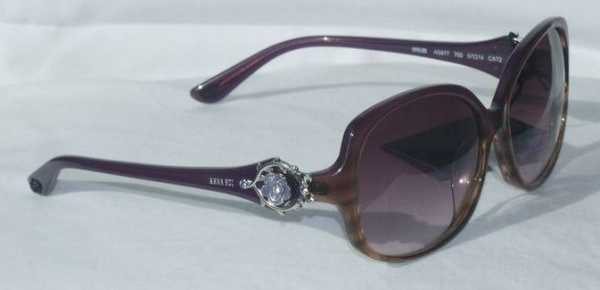 Anna Sui Sunglasses AS 877 700 Plum