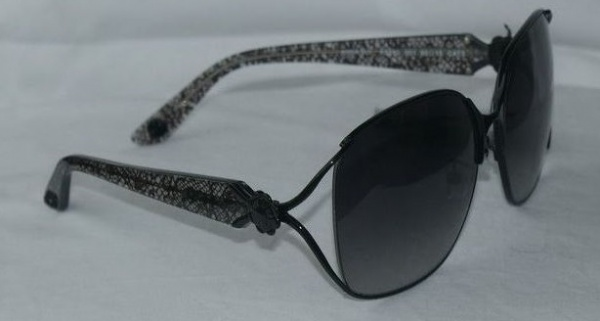 Anna Sui Sunglasses AS 880 001 Black