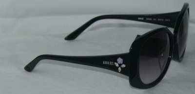Anna Sui Sunglasses AS 886 001 Black