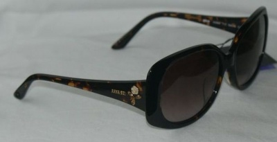 Anna Sui Sunglasses AS 886 113 Havana
