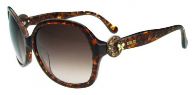 Anna Sui Sunglasses AS 831 167 Brown Horn