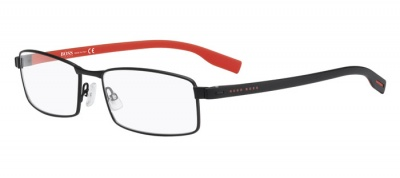 Hugo Boss 0609 Matte Black Red