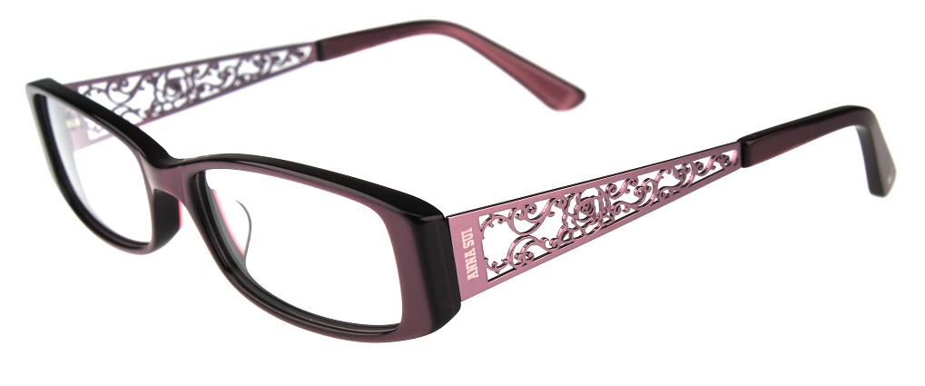Anna Sui glasses   Authorised stockist   AS503 Red - Framed Indulgence