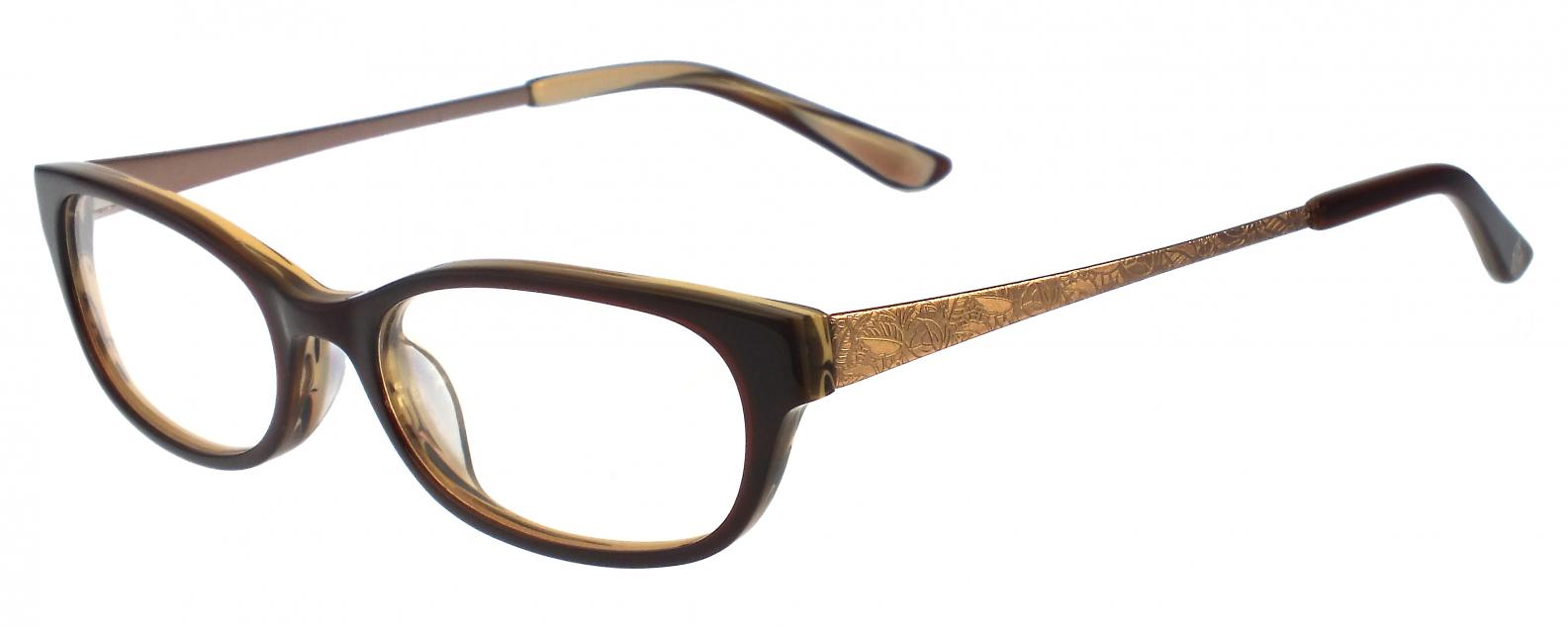 Anna Sui glasses   Authorised stockist   AS566 Brown - Framed Indulgence